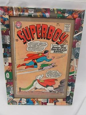 DC Superboy #109 1963  in Comic Book Photo Frame 25 X 30cm approx
