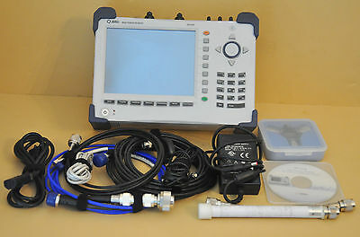 JDSU Cell Advisor Base Station Analyzer JD745A Cable Antenna GPS JD745 Loaded