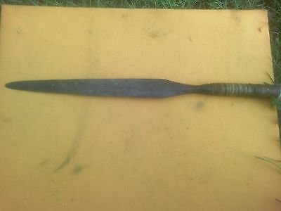 "Zulu Spear Assegai 60"" long South Africa"