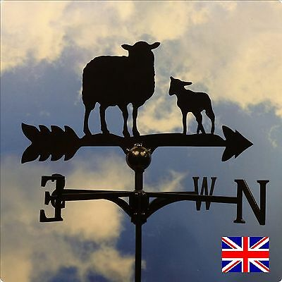 High Quality British Made Sheep & Lamb Weathervanes.(8)