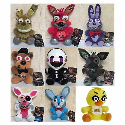 FNAF Five Nights at Freddy's Series 2 Nightmare Phantom Soft Plush Toy Doll Gift