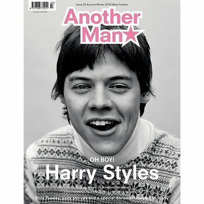 Another Man Magazine #23 SS 2016 Harry Styles One Direction + POSTER COVER 3 NEW