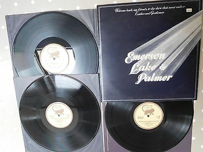 1st Press Vinyl 3LP Album 1974 ELP Emerson Lake & Palmer, Welcome Back... K63500