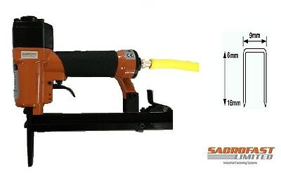Long Nose Air Stapler By Sacrofast Sf7116Ln  6-16Mm For Upholstery With Staples