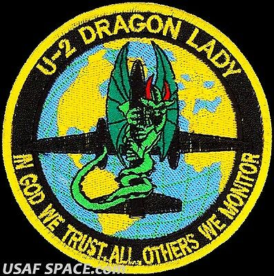USAF 9th OPERATIONS GROUP - U-2 DRAGON LADY - ORIGINAL AIR FORCE VEL PATCH