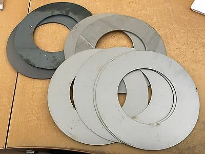 90mm id shim pack for excavator and digger pins etc (4 x 1mm, 2x 2mm, 2 x 3mm)