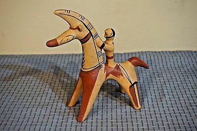 VTG Terracota Sculpture Trojan Horse Rider MMA France Metropolitan Museum of Art