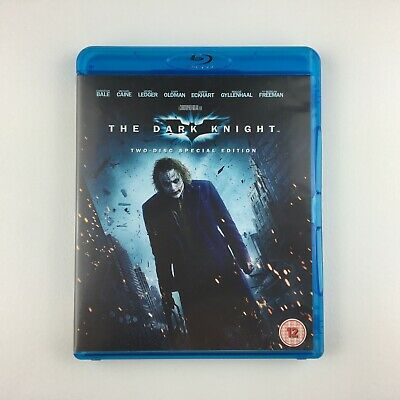 The Dark Knight (Blu-ray, 2008, 2-Disc Set)