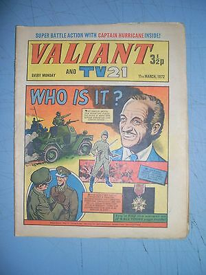 Valiant issue dated March 11 1972 Star Trek