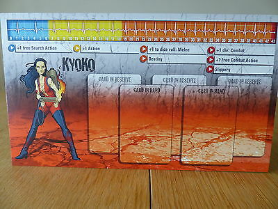 Ralph Zombicide Character Dashboard Card Card only