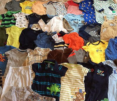 Great Baby Boy Clothes Lot 6-9 Months 9 Months 6-12 Months 38 Pieces