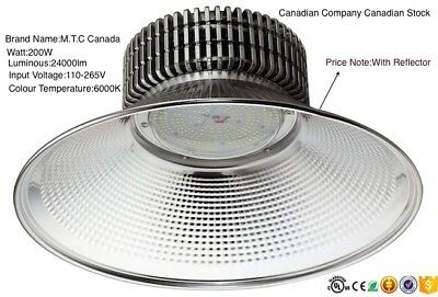 200W High Bay Light LED New Advanced Model,CUL Approved 24000lm,6000K