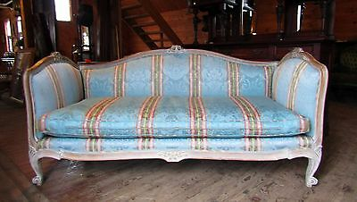 Victorian Era Carved French Sofa