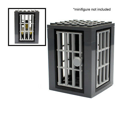 LEGO Prison Jail Cell For Minifigures Police City Town
