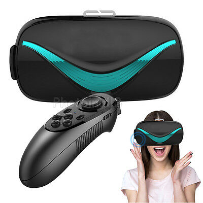 VR Touch Board 3D Glasses Headset+Controller For Samsung Galaxy S8 / S8 Plus New