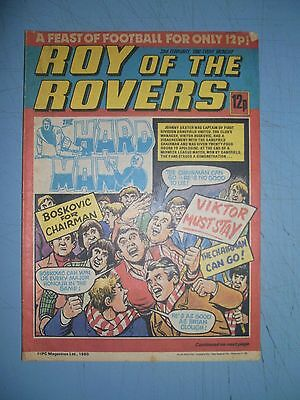 Roy of the Rovers issue dated February 23 1980