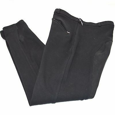 Used Tuff Rider Men's Full Seat Breeches - Black - Sz Men's 34 #77559