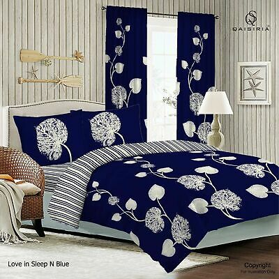 Super King Size✔4Pcs Complete Bedding Set✔Duvet Cover✔Fitted Sheet✔Pillow Cases