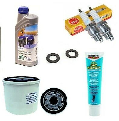 Service Maintenance kit  9.9 15 hp Mariner outboard 4 stroke oil filter '99-'05