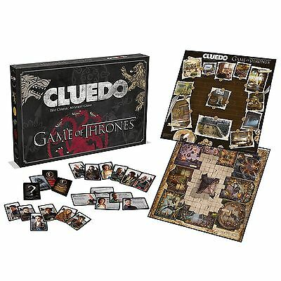 NEW Game Of Thrones Cluedo- Classic Mystery Game - Brand New & Sealed FAST P&P