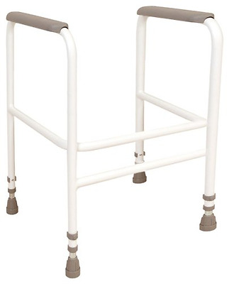 NRS Healthcare M00869 Free Standing Toilet Frame - Height Adjustable (Eligible f