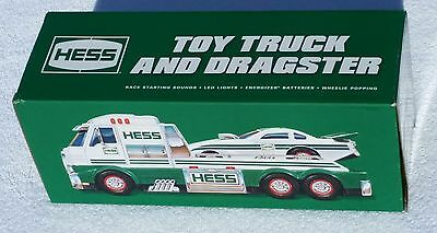 Hess Toy Truck And Dragster 2016 NEW In Box Free Shipping