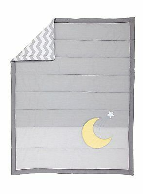 Little Love by NoJo Separates Collection Star and Moon Applique Comforter