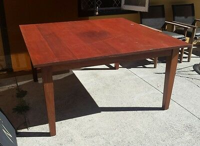 Solid Timber 8 Seater Dining Table - Gold Coast
