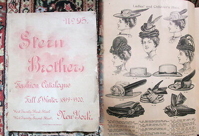 1899 Stern Brothers CLOTHING FASHION CATALOG-Women's,Mens Children's,Accessories