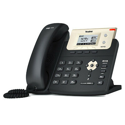 New Yealink SIP-T21P SIP 2-Line Phone HD Voice POE WITHOUT Power Adpater