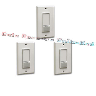 Liftmaster 823LM 3-Pack Remote Light Switch Security+2.0 for Garage Door Openers