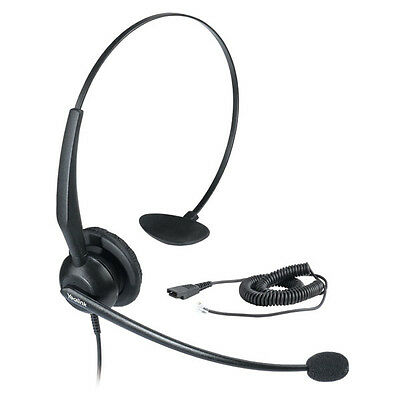 New Yealink YHS33 Headset Compatible with all Yealink phones New model of YHS32