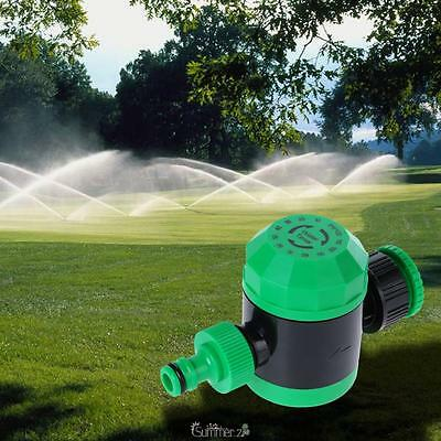 Home Garden Automatic Dial Water Timer Irrigation Systems Sprinkler Controller