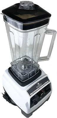 Professional Blender - High Performance Commercial Blender WHITE
