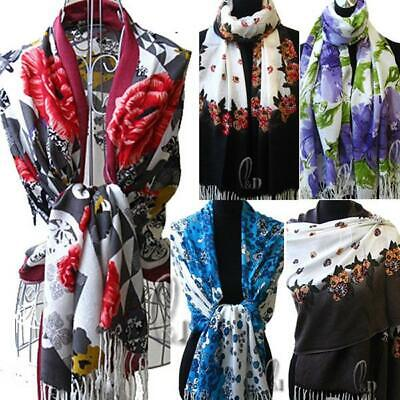 WHOLESALE BULK LOT OF 10 MIXED STYLE Soft Pashmina Warp SCARF/SHAWL SC001