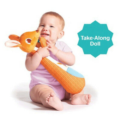 Tiny Love Kangy Kangaroo Baby Soft Travel Cot Change Table Toy
