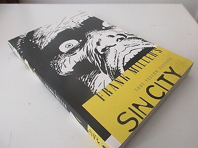 frank miller sin city vol 4 that yellow bastard paperback graphic novel