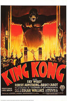 King Kong  (1933) Limited Edition Movie Poster  -  Rolled -  French Version