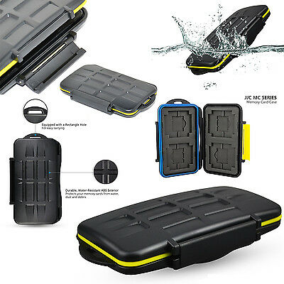 New Water-Resistant Anti-shock Storage Holder Memory Card Case for SD & CF cards
