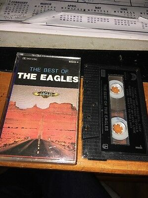 THE BEST OF THE EAGLES Cassette Tape