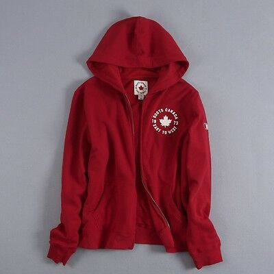 Genuine Roots Canada 1973 East To West Men Absorbent Cotton Jacket Hoodie