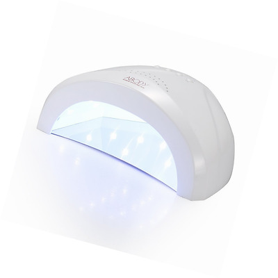 Abody Nail Lamp, 48W / 24W LED UV Nail Dryer,White Light with 5S,30S,60S