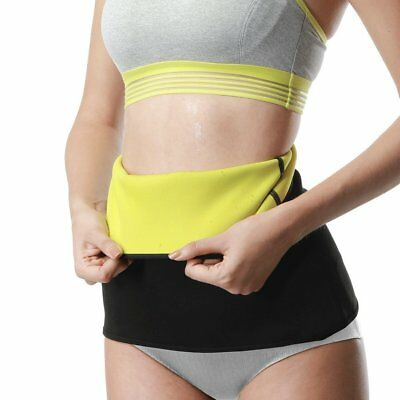 Thermo Sweat Hot Neoprene Body Shaper Slimming Waist Trainer Cincher Yoga Belt