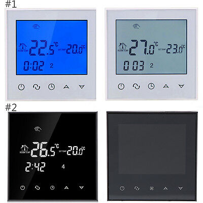 Practical Thermoregulator Touch Screen Heat Thermostat Warm Floor Air Condition