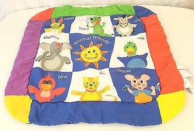 Baby Einstein Replacement Mat Blanket for Play Gym Animal Theme Mat Only