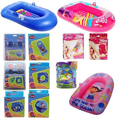 Swimming Inflatables ~ Pools Holiday ~ Boats Lilos Suit Ball Rings ~ Summer Fun