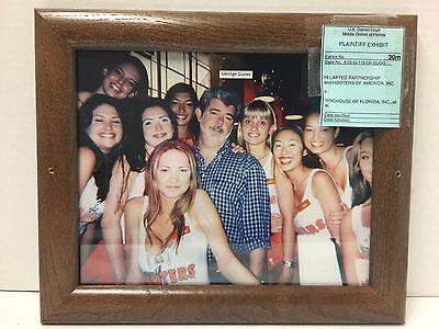 Vintage Hooters Photo Of George Lucas From District Court Case-Rare Find!!!