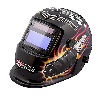 Firepower Auto-Darkening Welding Helmet (Piston & Plug) 1441-0086