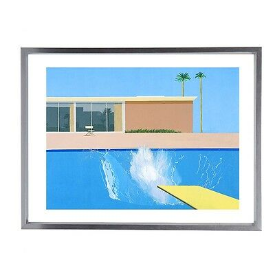 "David Hockney Mid Century Modernist Fine Art Print 16""x12"""