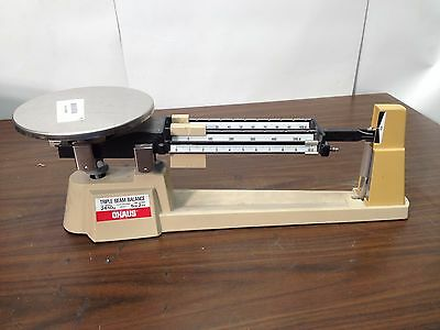 Ohaus Triple Beam Balance Scale W/O Attachment Max weight 2610g 700/800 Series